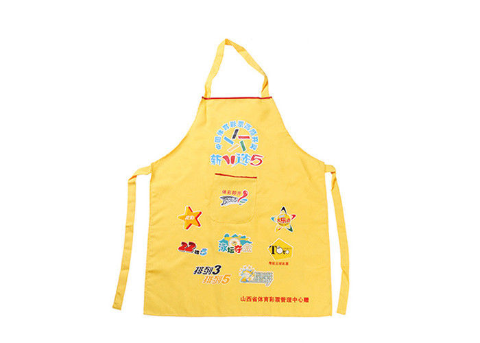 100% Cotton Kitchen Promotional Printed Aprons With Custom Logo